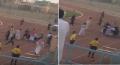 تعرض لاعب كرة قدم للطعن داخل الملاعب