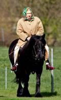 ملكة بريطانيا تستعين بالخيول ﻷستعادة شبابها